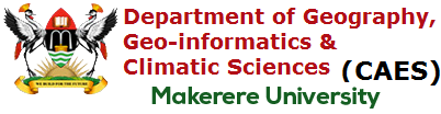 Department of Geography, Geoinformatics and Climatic Sciences